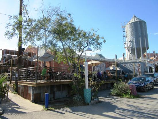 Blue Star Brewing Company: Exterior view