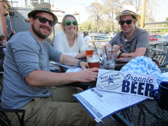Blue Star Brewing Company: Sampling