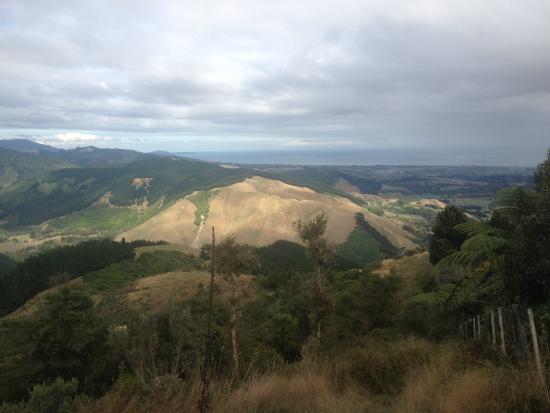 Waikanae, Nova Zelândia: View from the summit