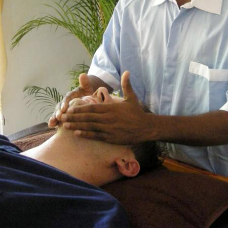 Bentota, Sri Lanka: Face Massage