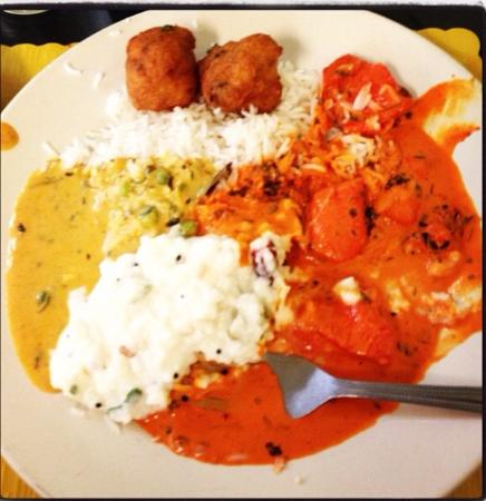 Swagath Indian Cuisine: My favorite plate I had there ������