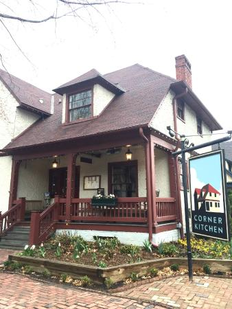 Exterior Picture Of The Corner Kitchen Asheville