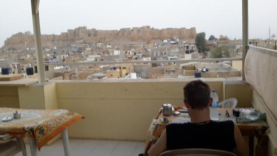 Residency Centre Point Guest House and Desert Safari : rooftop view