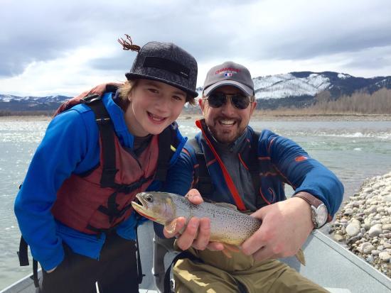 Grand Teton Fly Fishing: Success