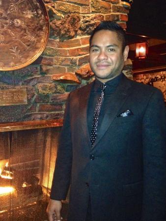 Ringside Steakhouse Manager - Kalani Rideup; a Class Act!