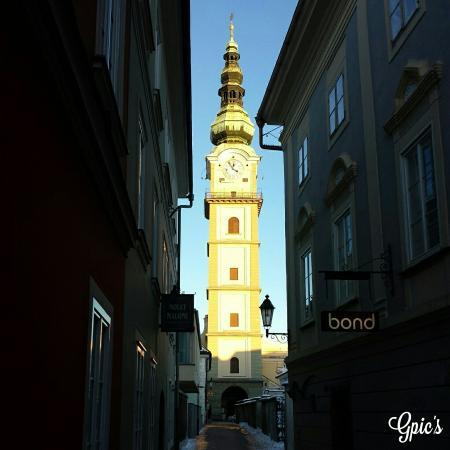 Stadtpfarrkirche St. Egid: Stadtpfarrturm Klagenfurt
