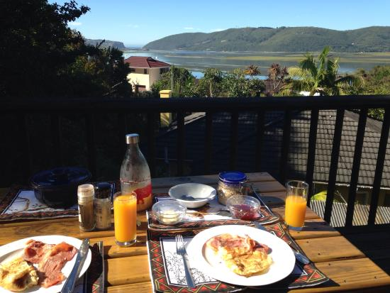 Protea Guest House: Breakfast with view