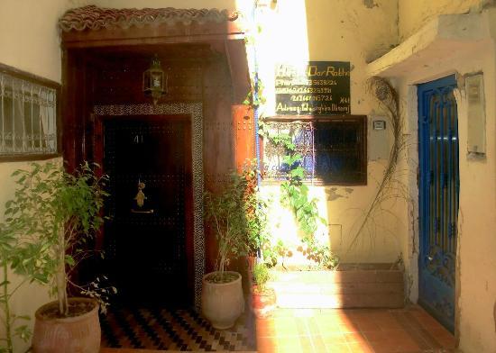 Dar Rabha: L'ingresso, in fondo al vicolo
