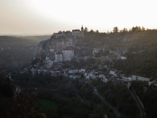 Le Belvédère : the view