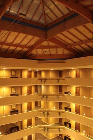 Protur Biomar Gran Hotel & Spa: One of 2 main blocks - interior