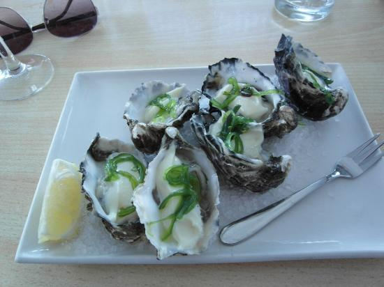 Lure Restaurant & Bar: Wasabi oysters