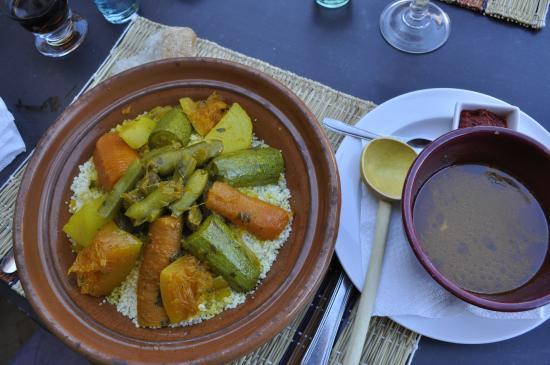 RESTAURANT DOUYRIA: Couscous vegetarien