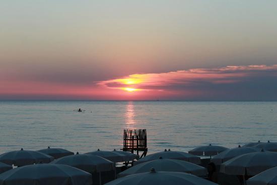 Marina di Bibbona, Italia: Una suggestiva vista dalla terrazza