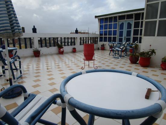 Hotel Gnaoua: Terrace