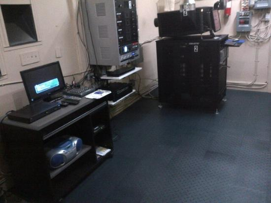 Norwood Theatre: Projection Booth