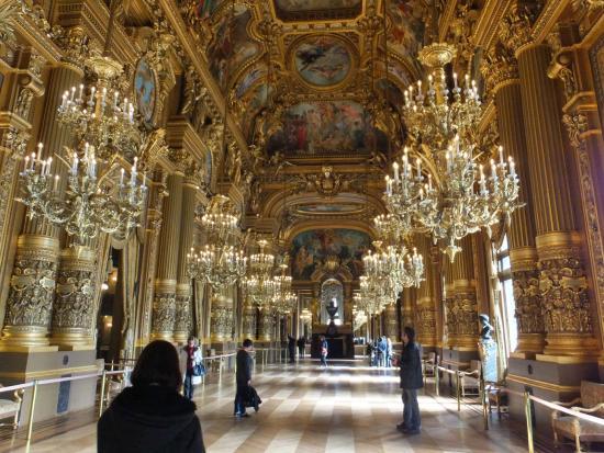内装 - パリ、ガルニエ宮 - パリ...