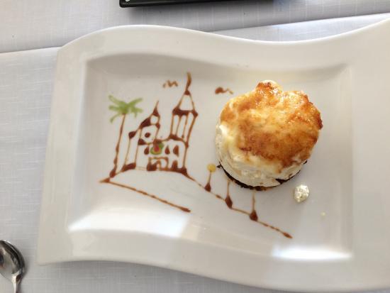 Restaurante Costa Dorada: Crema catalana