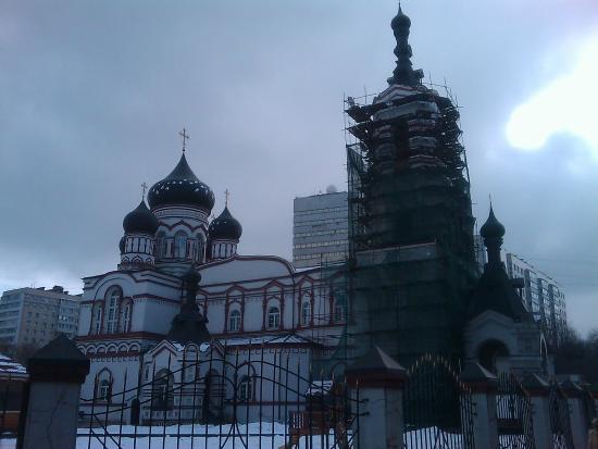 Православный Храм Великомученика Димитрия Солунского на Благуше
