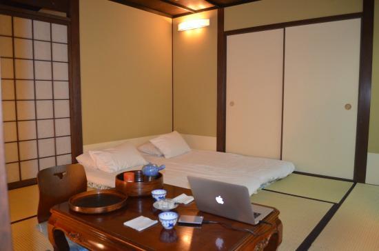 Japanese style bedroom on ground floor - Picture of Matsubaya Inn ...