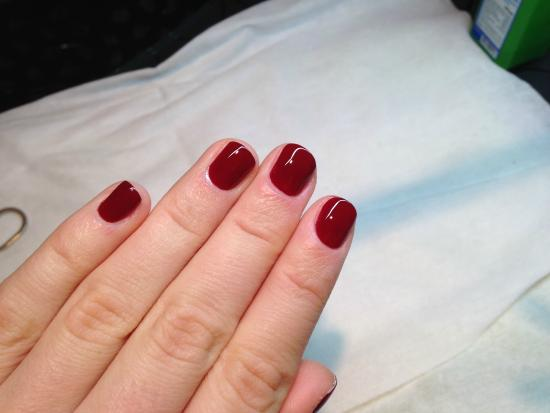 got my nails done before having lunch - Picture of Restaurant Evo ...