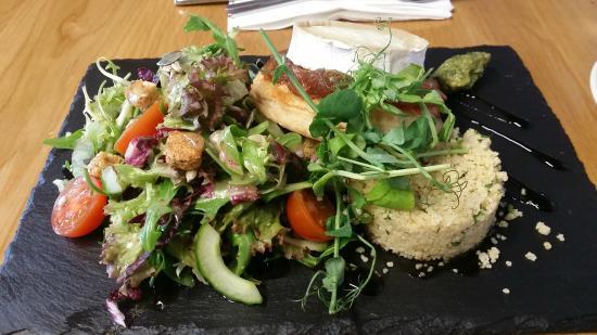 Choc Amor: The goats cheese salad