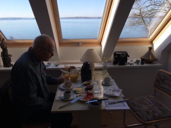 Allan Lindholm Andreassen: morgenmad med udsigt