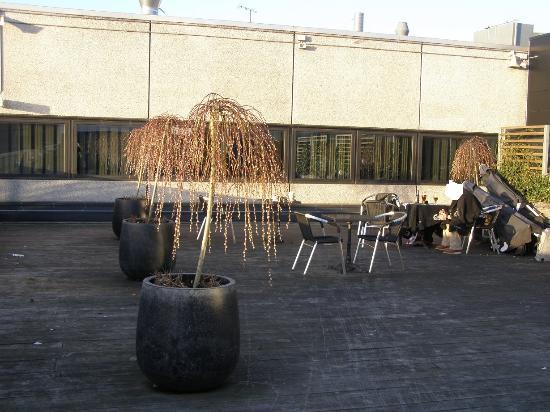 Kaempe Tagterrasse Hvor Du Gerne Ma Ryge Billede Af Terrasse