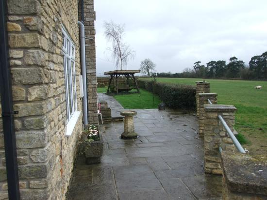 Croftlands Bed and Breakfast: View of the grounds from our patio