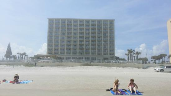 Hyatt Place Daytona Beach Oceanfront Hotel From The