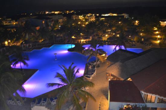 Hotel Pelicano: Vista desde las alturas