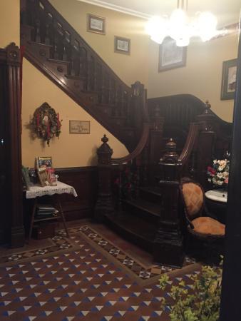 Amethyst Garden: Victorian Staircase