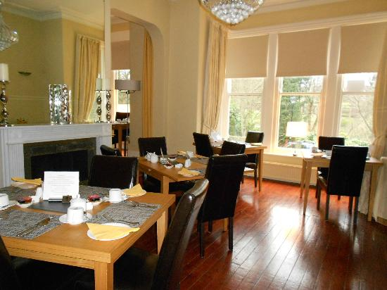The Cavendish: Dning room