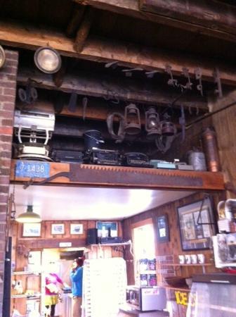 The Polebridge Mercantile : Antique lanterns