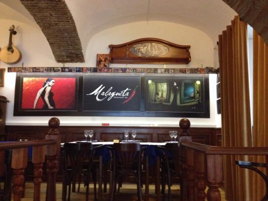 Restaurante Malagueta: Interior restaurante