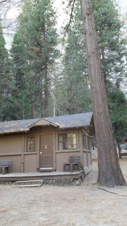 Half Dome Village: Cabin With Bathroom