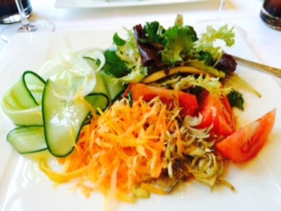 Auberge du Château : Mixed salad