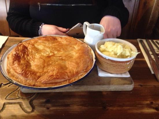 The Pigs Plate pie chicken and sage & Plate pie chicken and sage - Picture of The Pigs Holt - TripAdvisor