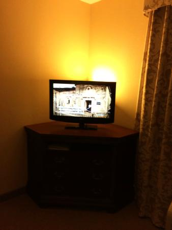 Hampton Inn Dunn: Smallest Television Ever