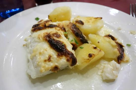 Celler Sa Sini : Bacalao al allioli