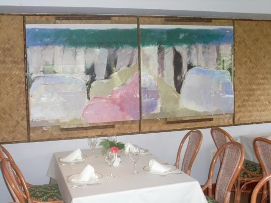 cuadros comedor - Picture of Hotel Bosque-mar, O Grove - TripAdvisor