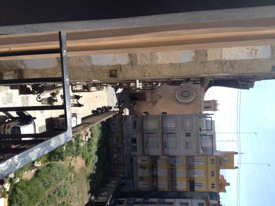 Antigua Morellana HS: Vista desde la terraza de la habitacion
