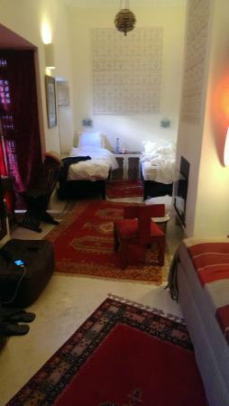 Riad Al Massarah: Bedroom
