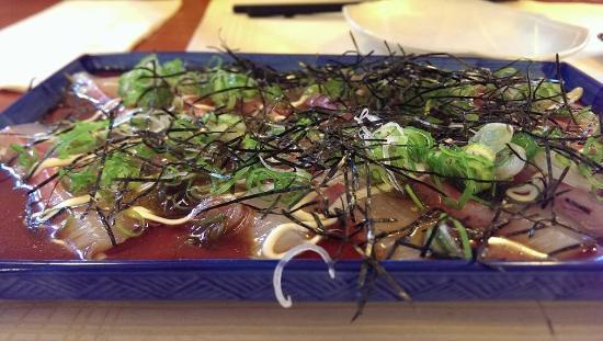 Fujiwara : Tai carpaccio