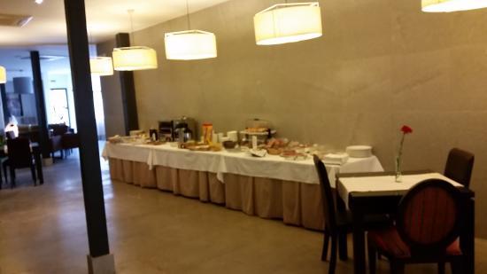 Hotel el Postigo: buffet desayuno