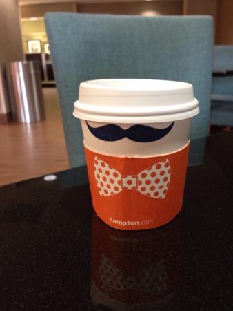 "Hampton Inn Florence-Midtown: Breakfast with a Hampton ""tacky tourist"""