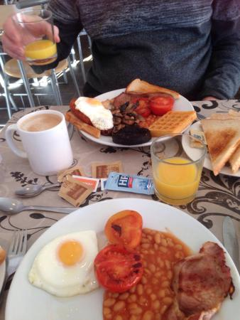 Breaktimes Cafe: Very tasty food