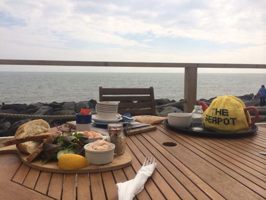 The Seapot: Cracking seafood platter matched by the view