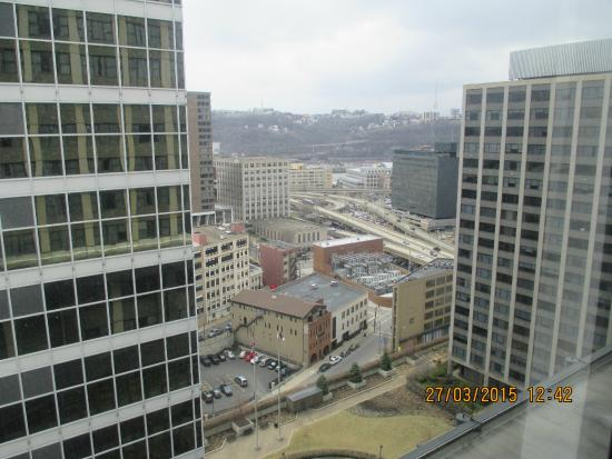 Pittsburgh Marriott City Center: View from room