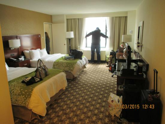 Pittsburgh Marriott City Center: Double room