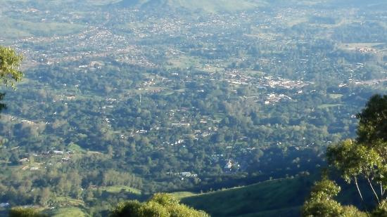 Sunbird Ku Chawe: View of Zomba Town from Queens View